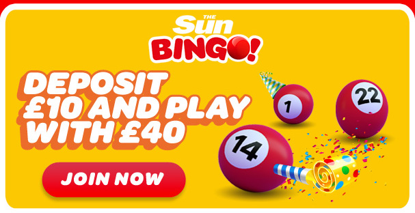 Come and join the fun at sun bingo