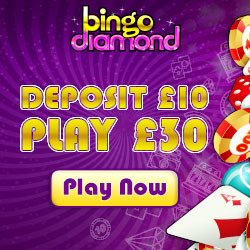 Most Popular Bingo Sites - Bingo Diamond