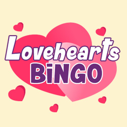 Most Popular Bingo Sites - Lovehearts Bingo