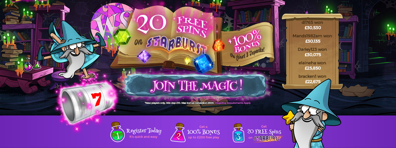 online casino slot the gaming wizard