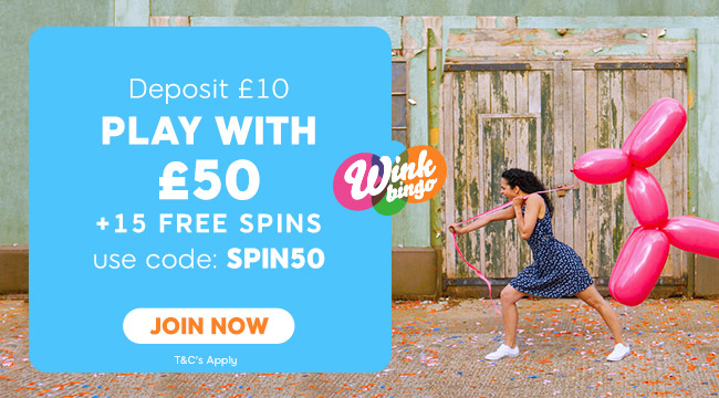 Latest Bingo News - Christmas Bingo Offers and Promotions at Wink Bingo