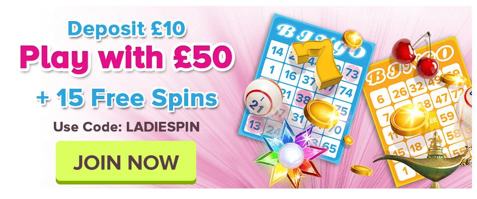Latest Bingo News - Play at Bingo site UK site 888 Ladies Bingo.