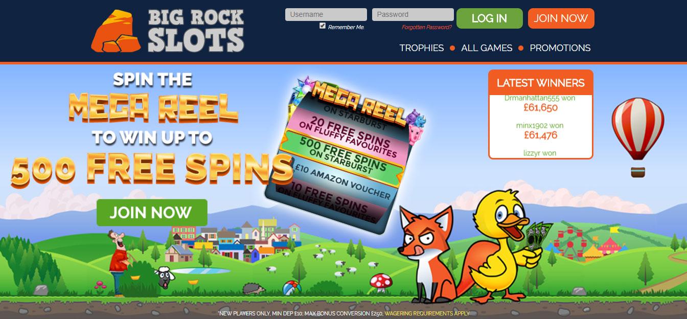 Big Rock Slots