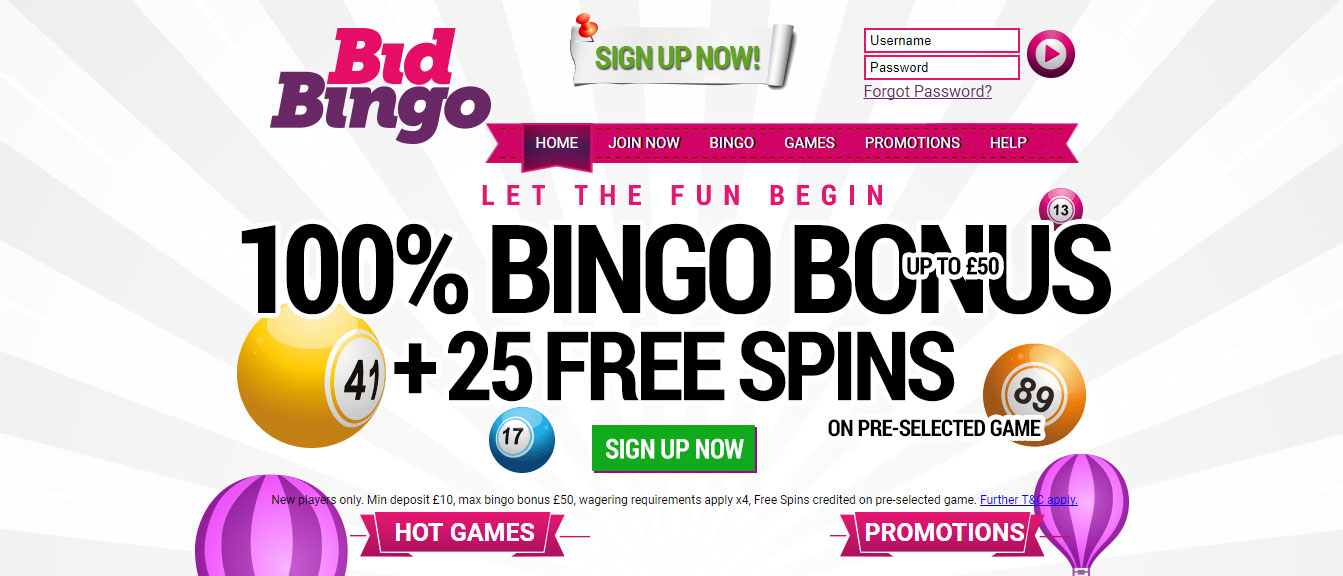 Bid Bingo