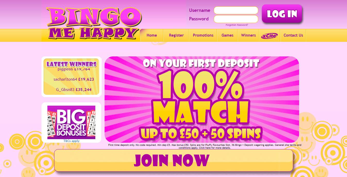 Bingo Me Happy
