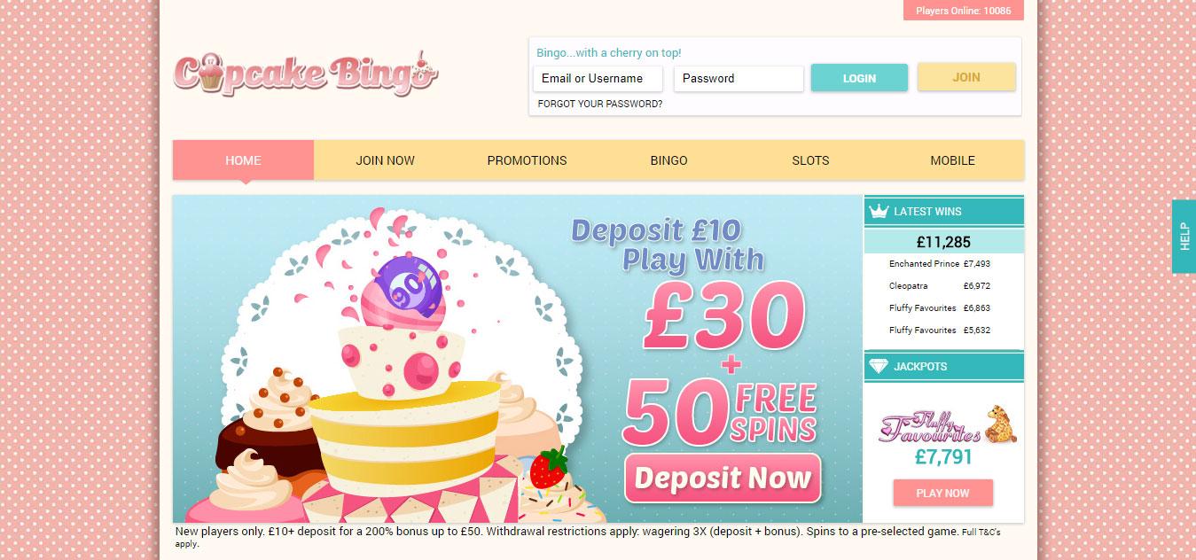 Cupcake Bingo