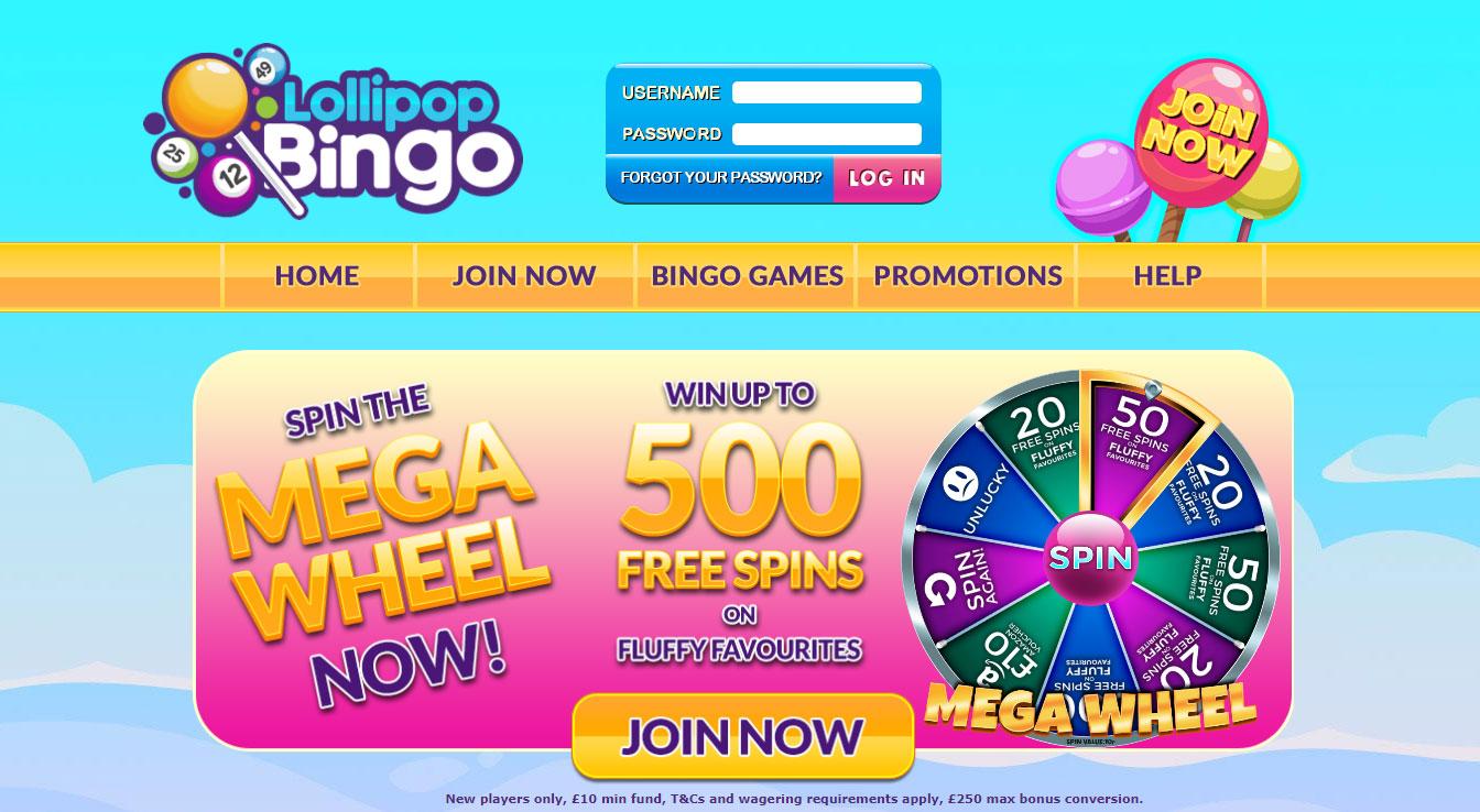 Lollipop Bingo