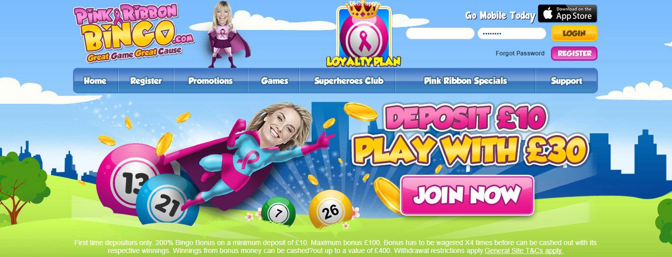 Pink Ribbon Bingo