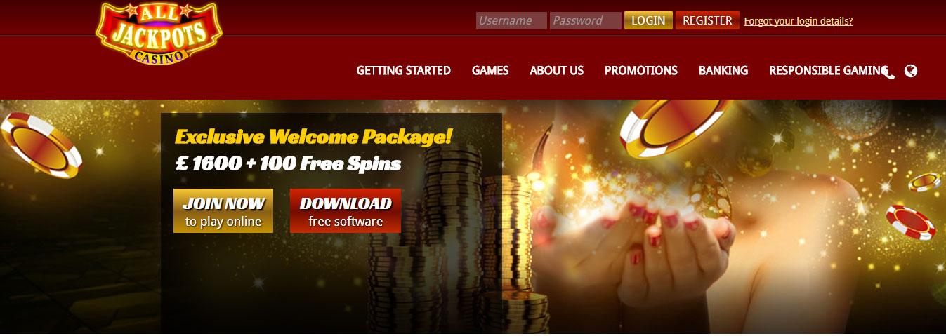 all jackpot online casino
