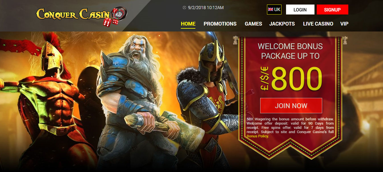 Featured Slots Casino - September 2018