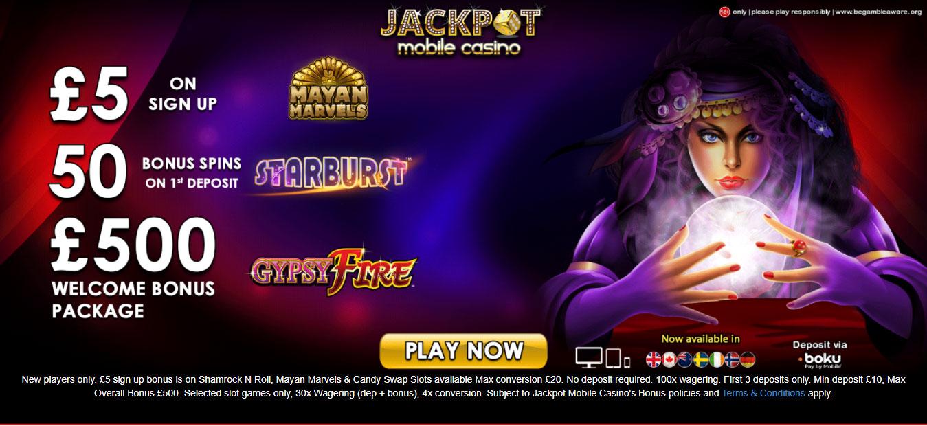 Jackpot Mobile Casino